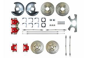 RIGHT STUFF DETAILING #A82RD78Z Rear Disc Brake Conversion Kit