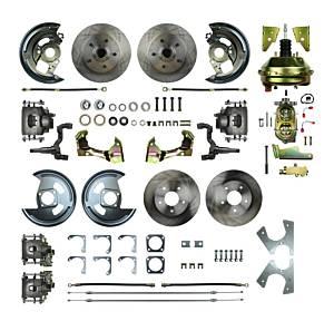 RIGHT STUFF DETAILING #AFXDC41C 64-72 A Body 4 Wheel Disc Brake Conversion