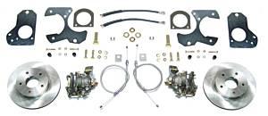 RIGHT STUFF DETAILING #AFXDS78 Rear Disc Brake Conversion Kit w/Parking Brake