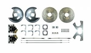 RIGHT STUFF DETAILING #AFXRD01S Rear Disc Brake Conversion Kit w/Parking Brake