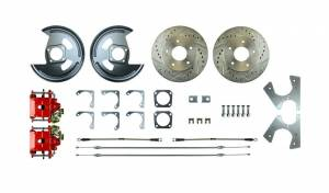RIGHT STUFF DETAILING #AFXRD01Z Rear Disc Brake Conversion Kit w/Parking Brake