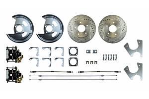 RIGHT STUFF DETAILING #AFXRD05S Rear Disc Brake Conversion Kit w/Parking Brake