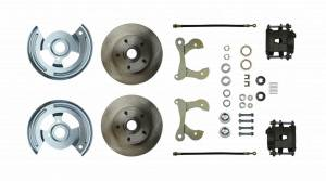 RIGHT STUFF DETAILING #FSC55WKC Disc Brake Conversion 55 -64 Full Size Chevy
