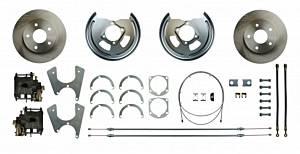 RIGHT STUFF DETAILING #FSCRD01 Rear Disc Conv. GM E-Brake Cables Incl.