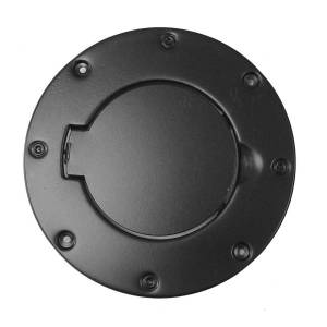 RUGGED RIDGE #11229.01 Non-Locking Gas Cap Door Black 97-06 Jeep Wrangler