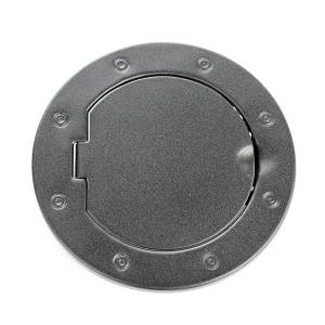 RUGGED RIDGE #11229.05 Non-Locking Gas Cap Door Textured Black 07-18 Jeep