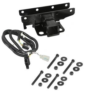 RUGGED RIDGE #11580.51 Receiver Hitch Kit w/Wir ing Harness 07-18 Jeep