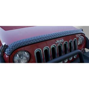 RUGGED RIDGE #11651.17 Hood Guard  Body Armor 07-18 Jeep Wrangler JK