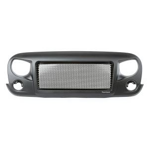 RUGGED RIDGE #12034.01 Spartan Grille 07-18 Jeep Wrangler JK