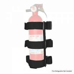 RUGGED RIDGE #13305.21 Sport Bar Fire Extinguis her Holder Black 55-18