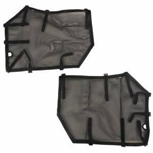 RUGGED RIDGE #13579.53 Fortis Door Covers Front 18-   Jeep Wrangler JL