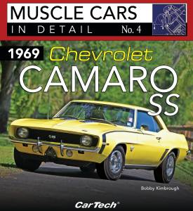 S-A BOOKS #CT564 Cars In Detail 1969 Camaro