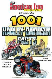 S-A BOOKS #CT575 American Iron 1001 Harley Davidson Facts