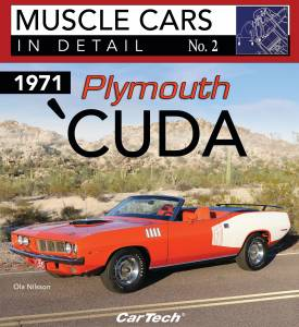 S-A BOOKS #CT576 Cars In Detail 1971 Plymouth Cuda