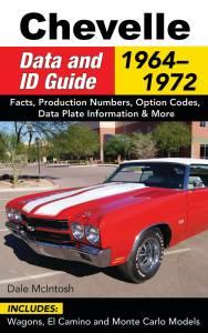 S-A BOOKS #CT577 1964-72 Chevelle Data & ID Guide