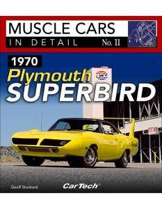 S-A BOOKS #CT578 Muscle Cars In Detail 1970 Plymouth Superbird