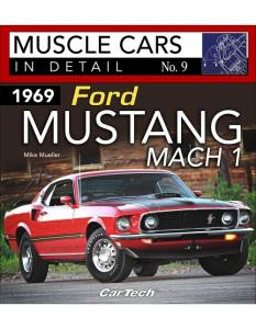 S-A BOOKS #CT589 1969 Ford Mustang Mach 1 : Muscle Cars In Detail