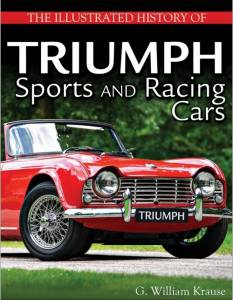S-A BOOKS #CT596 Illustrated History of T riumph Sports and Racing