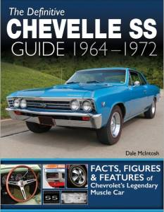 S-A BOOKS #CT604 1964-72 Chevelle SS Guide