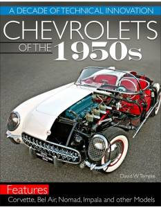 S-A BOOKS #CT608 Chevrolets Of The 1950's