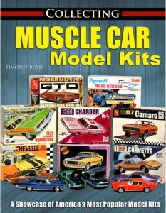 S-A BOOKS #CT624 Collecting Muscle Car Model Kits