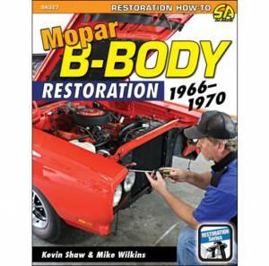 S-A BOOKS #SA327 66-70 Mopar B-Body Restoration