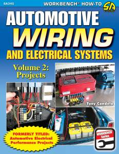 S-A BOOKS #SA345 Automotive Wiring and Electrical Systems Vol 2