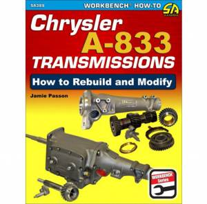 S-A BOOKS #SA389 How To Build & Modify Chrysler A-833 Trans