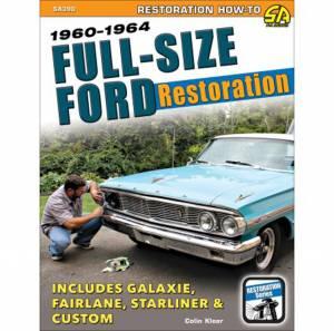 S-A BOOKS #SA390 1960-64 Ford Full Size Car Restoration