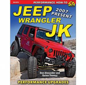 S-A BOOKS #SA405 Performance Upgrades 07-  Jeep Wrangler JK