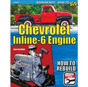 S-A BOOKS #SA455 1929-62 Chevy Inline 6 Engine