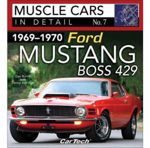 S-A BOOKS #SA587 Cars In Detail 69-70 Ford Mustang Boss * Special Deal Call 1-800-603-4359 For Best Price