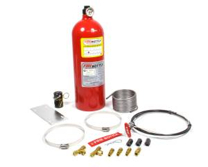 SAFETY SYSTEMS #SAFPRC-1010 Fire Bottle System 10lb Pull w/Steel Tubing