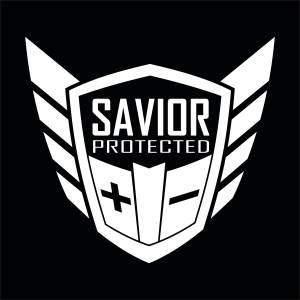 Savior Products #SAVIOR-DECAL-W Savior Window Decal Each White  * Special Deal Call 1-800-603-4359 For Best Price