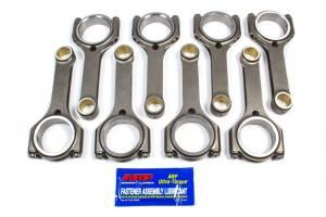 SCAT ENTERPRISES #2-350-6000-1888-QLS SBC Q-Lite Forged H-Beam Rods 6.000