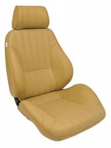 SCAT ENTERPRISES #80-1000-54R Rally Recliner Seat - RH - Beige Vinyl