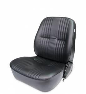 SCAT ENTERPRISES #80-1400-51L PRO90 Low Back Recliner Seat - LH - Black Vinyl