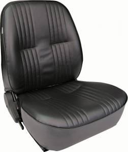 SCAT ENTERPRISES #80-1400-51R PRO90 Low Back Recliner Seat - RH - Black Vinyl