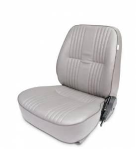 SCAT ENTERPRISES #80-1400-52L PRO90 Low Back Recliner Seat - LH - Grey Vinyl