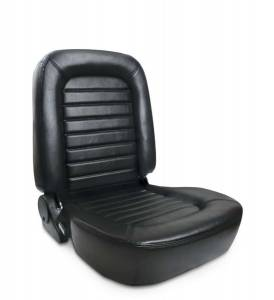SCAT ENTERPRISES #80-1550-51L Classis Muscle Car Seat - LH - Black Vinyl