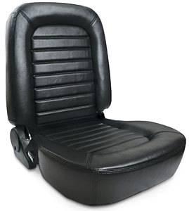 SCAT ENTERPRISES #80-1550-51R Classis Muscle Car Seat - RH - Black Vinyl