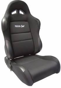 SCAT ENTERPRISES #80-1605-61R Sportsman Racing Seat - Right - Black Vinyl/Vlur