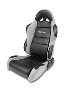 SCAT ENTERPRISES #80-1605-62L Sportsman Racing Seat - Left - Gray Vinyl/Velour