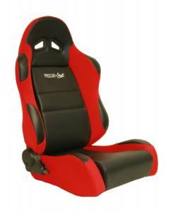 SCAT ENTERPRISES #80-1605-64R Sportsman Racing Seat - Right - Red Vinyl/Velour