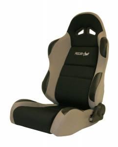 SCAT ENTERPRISES #80-1606-62L Sportsman Racing Seat - Left - Gray Velour