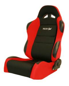 SCAT ENTERPRISES #80-1606-64L Sportsman Racing Seat - Left - Red Velour