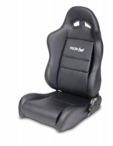 SCAT ENTERPRISES #80-1610-51L Sportsman Racing Seat - Left - Blk Syn Leather