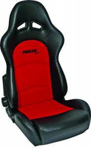 SCAT ENTERPRISES #80-1615-90 Sportsman Pro Racing Seat - Red/Black