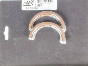 SCE GASKETS #21105 SBC Rear Main Seal - 2-Piece Viton