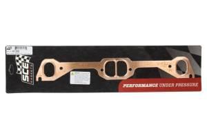 SCE GASKETS #4128 Pontiac D-Port Copper Exhaust Gasket Set